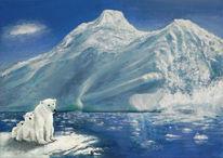 Klimawandel, Tierkinder, Arktis, Erderwärmung