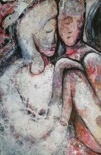 Modern art, Abstrakt, Lydia kalasz, Menschen