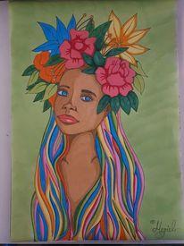 Weiblichkeit, Zartheit, Schönheit, Zeichnungen