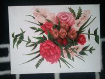 Blumen, Malerei, Aquarellmalerei, Aquarell