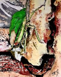 Insekten, Fenstereck, Ruine, Rost