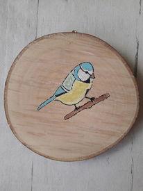Bunt, Malerei, Vogel