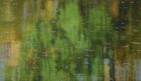Spiegelung, Ölmalerei, Impressionismus, Wasser