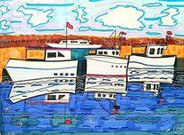 Wasser, Boot, Himmel, Hafen