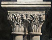 Säule, Korinthisches kapitell, Griechisch, Malerei marcel heinze