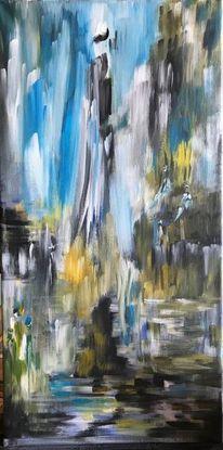Modern art, Acrylmalerei, Stillleben, Malerei acrylmalerei