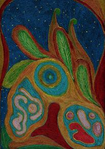 Seele, Intuitive, Farben, Malerei