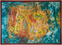 Ölfarben, Abstrakt, Kunstwerk, Malerei