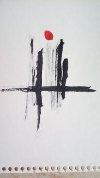 Strich, Sonne, Schwarz, Malerei