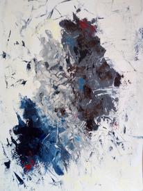 Dynamik, Bewegung, Vermischung, Malerei