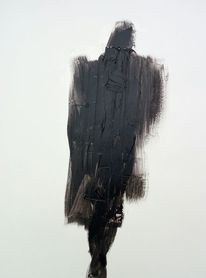 Schwarz, Mann, Bewegung, Malerei