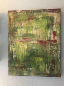 Pflanzen, Natur, Abstrakt, Malerei