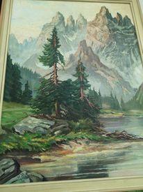 Landschaft, Malerei, Pflanzen, Pinnwand