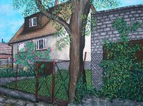 Pommern, Malerei, Haus