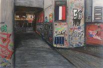 Malerei, Tags, Graffiti, Hamburg