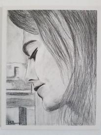 Zeichnung, Bleistiftzeichnung, Menschen, Zeichnungen