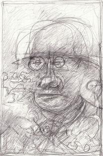 Abstrakt, Menschen, Expressionismus, Zeichnungen