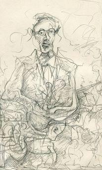 Figur, Expressionismus, Menschen, Zeichnungen