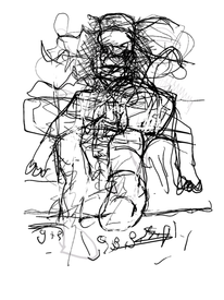 Menschen, Abstrakt, Figur, Digitale kunst