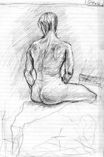 Expressionismus, Figur, Menschen, Zeichnungen