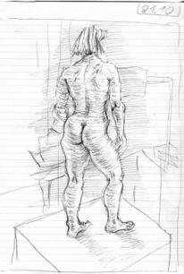 Menschen, Figur, Expressionismus, Zeichnungen