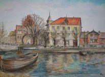 Boot, Neubrandenburg, Geschichte, Ufer
