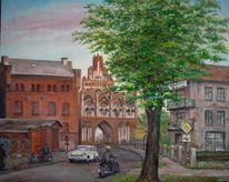Neubrandenburg, Stadttor, Geschichte, Malerei