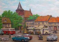 Strasburg, Kirche, Uckermark, Geschichte