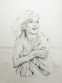 Portrait, Zeichnung, Monroe, Zeichnungen