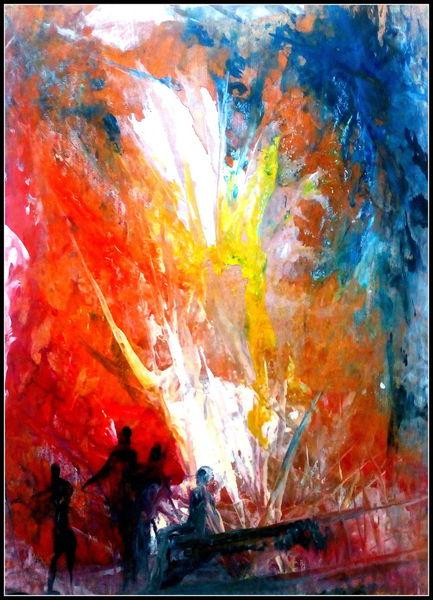 Wurzel, Farben, Menschen, Wachsfarben, Heiße, Zerstörung