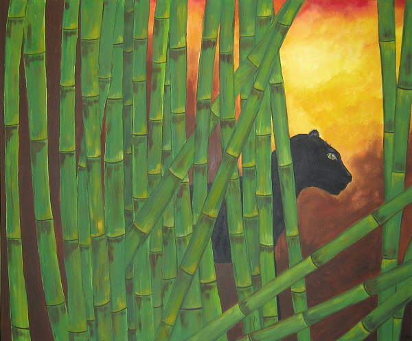 Bambus 283 Bilder Und Ideen Auf Kunstnet Modern Art Stangel Und