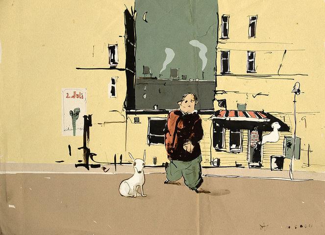 Hundeführerschein, Skizzenbuch, Zeichnungen, Hund