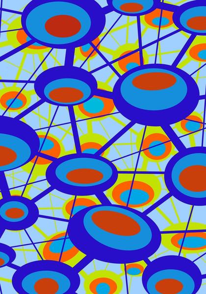 Plakatkunst, Grafik, Nervenzelle