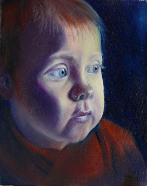 Portrait, Menschenbilder, Realismus, Malerei