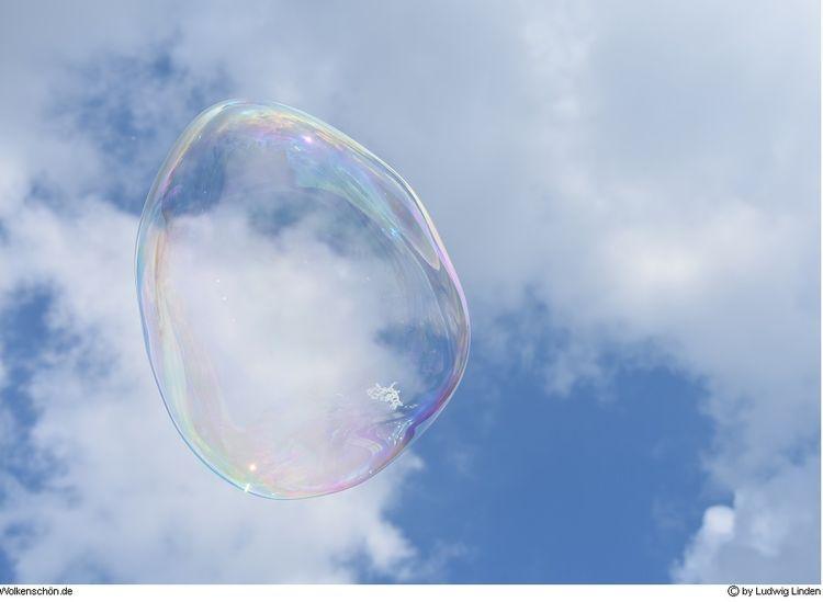 Wolken, Himmel, Wolkenschön, Blau, Blase, Fotografie