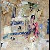 Collage, Mischtechnik,