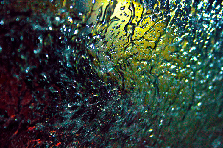 Licht, Wasser, Autowaschanlage, Tropfen, Luftdruck, Glas