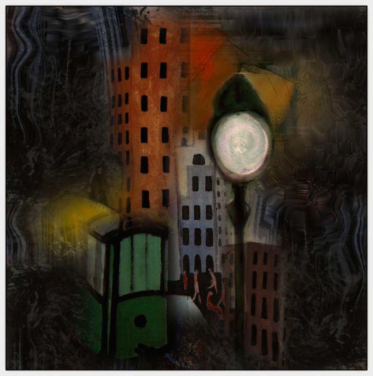 Kunstnet works digital art surreal schwache beleuchtung