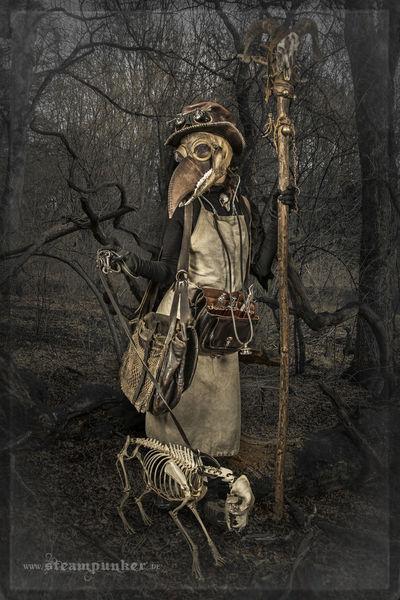 Gasmaske, Skelett, Mittelalter, Knochen, Tod, Maske