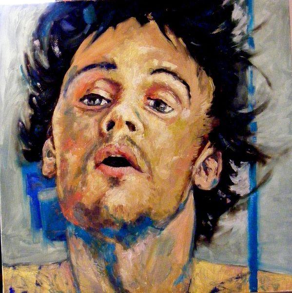Emotion, Portrait, Menschen, Ölmalerei, Ausdruck, Malerei