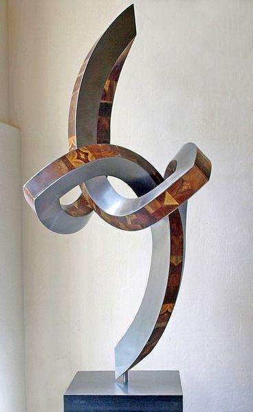 Skulptur, Begegnung, Konstruktion, Schwingung, Bewegung, Objektive skulptur