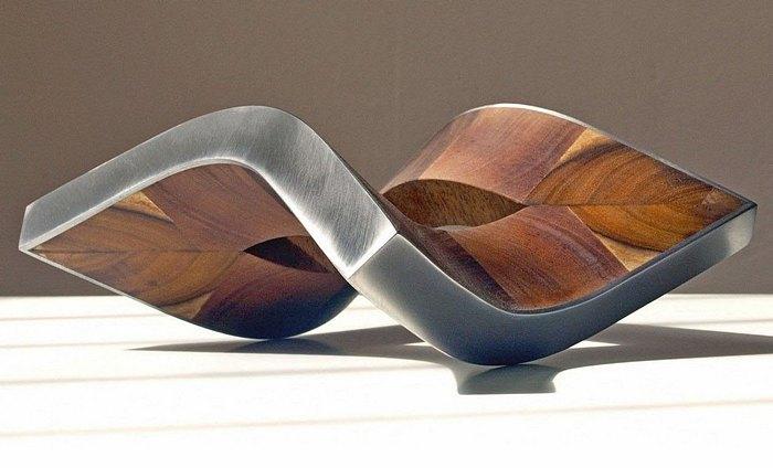 Skulptur, Bewegung, Konstruktion, Dynamik, Entfaltung, Stahlskulptur