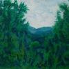 Landschaft, Wald, Pilse, Malerei