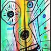 Aquarellmalerei, Spontan, Naiv, Kinderzeichnung