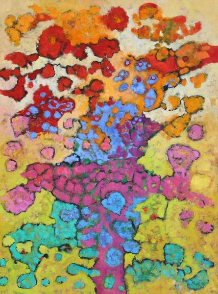 Expressionismus, Abstrakt, Ölmalerei, Panel, Malerei