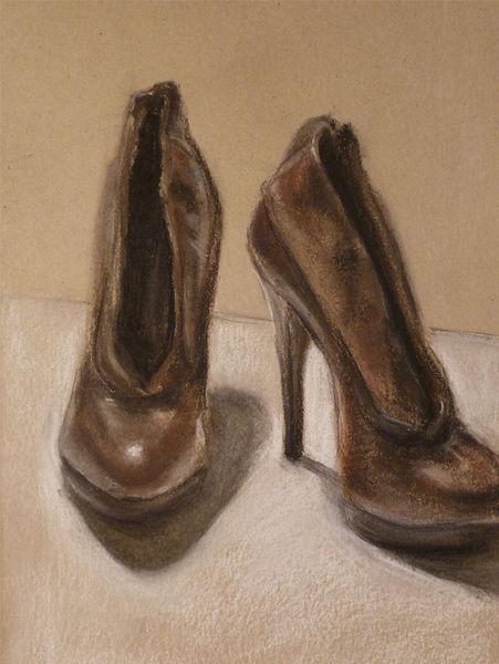 Schuhe, Schoes, Mädel, Frau, Pumps, Reiz