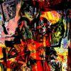 Stimmungsvoll, Digitale kunst, Albtraum, Zerstörung