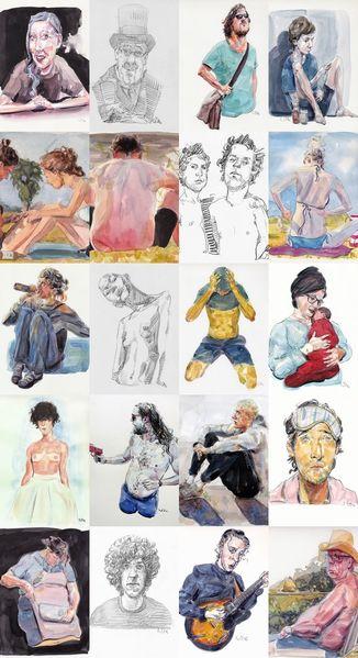Zeichnung, Mix, Zeichnungen,