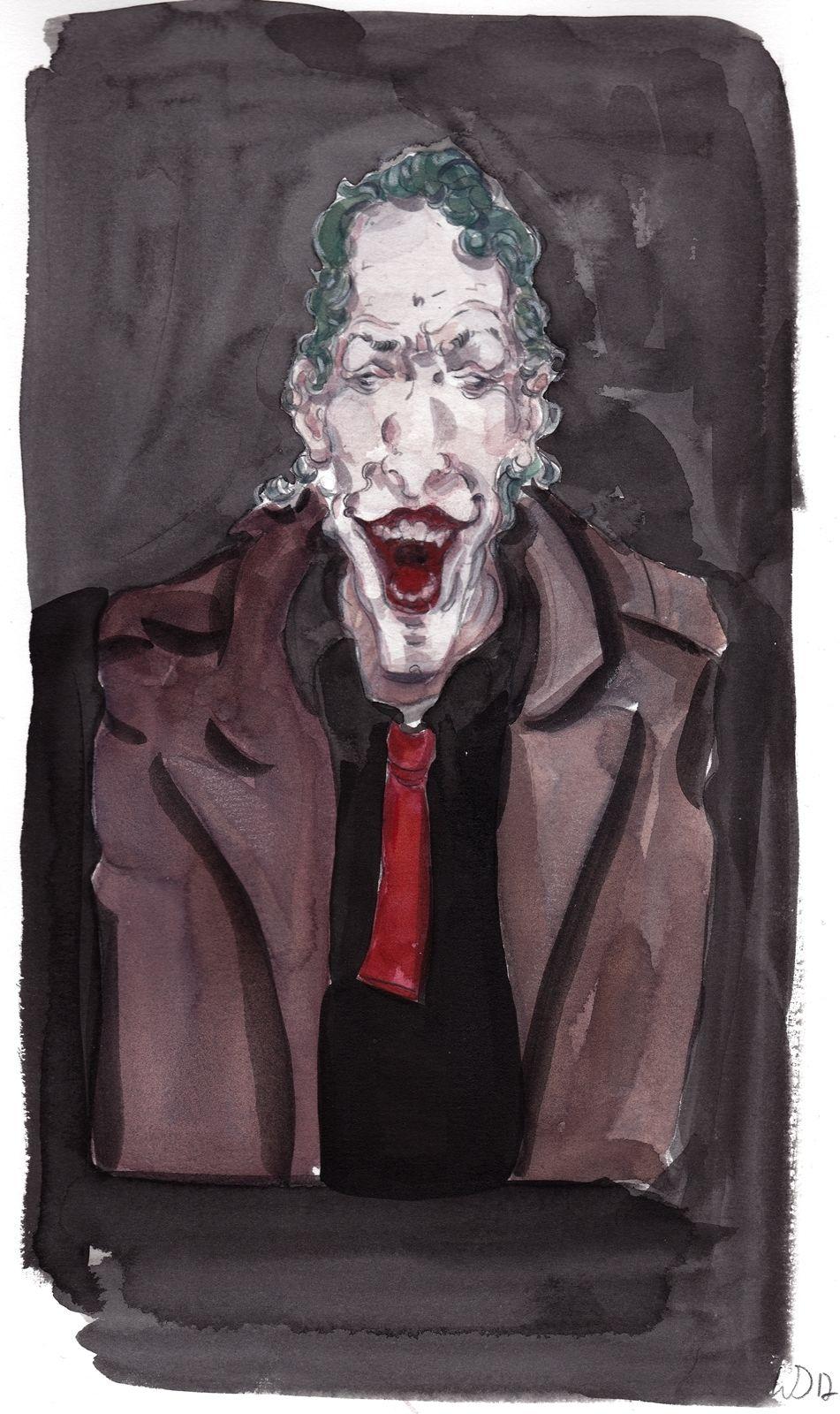 joker clown b se joker illustrationen von daniel. Black Bedroom Furniture Sets. Home Design Ideas
