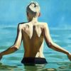 Haut, Sommer, Licht, Malerei